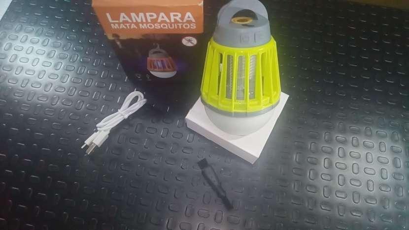 Lampra MataMosquitos a Bateria!!! Nuevo!!! - 5