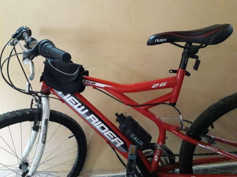 Bicicleta caloi new raider aro 26 modelo rush - 1