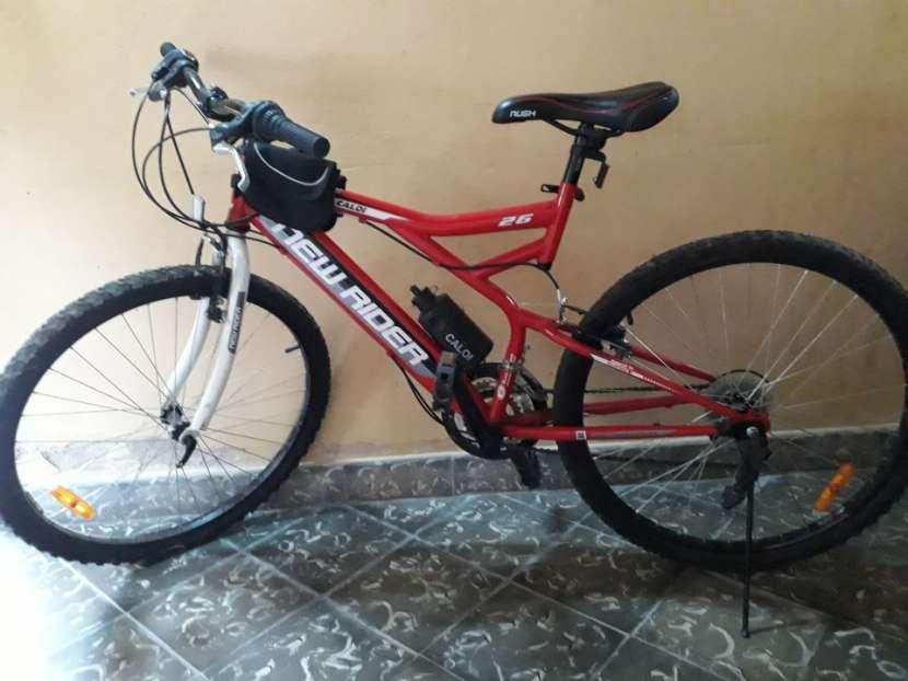 Bicicleta caloi new raider aro 26 modelo rush - 0