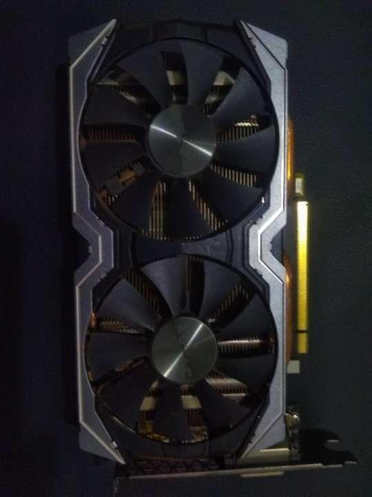 Tarjeta de Vídeo NVIDIA GTX 1070 8 GB Zotac - 0