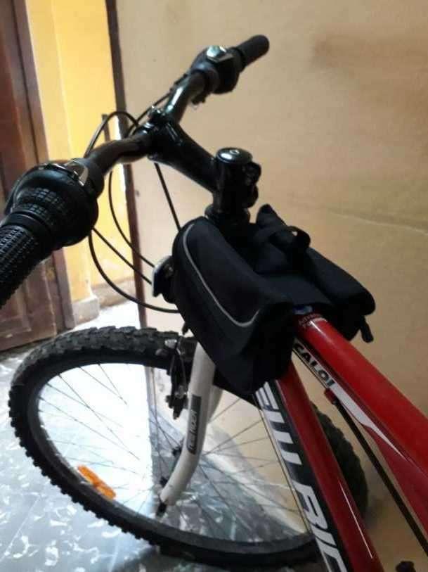 Bicicleta caloi new raider aro 26 modelo rush - 3