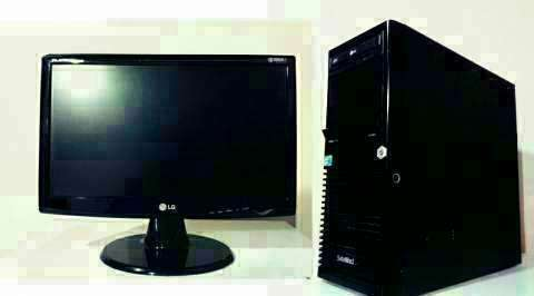Computadora- PC - monitor - 0
