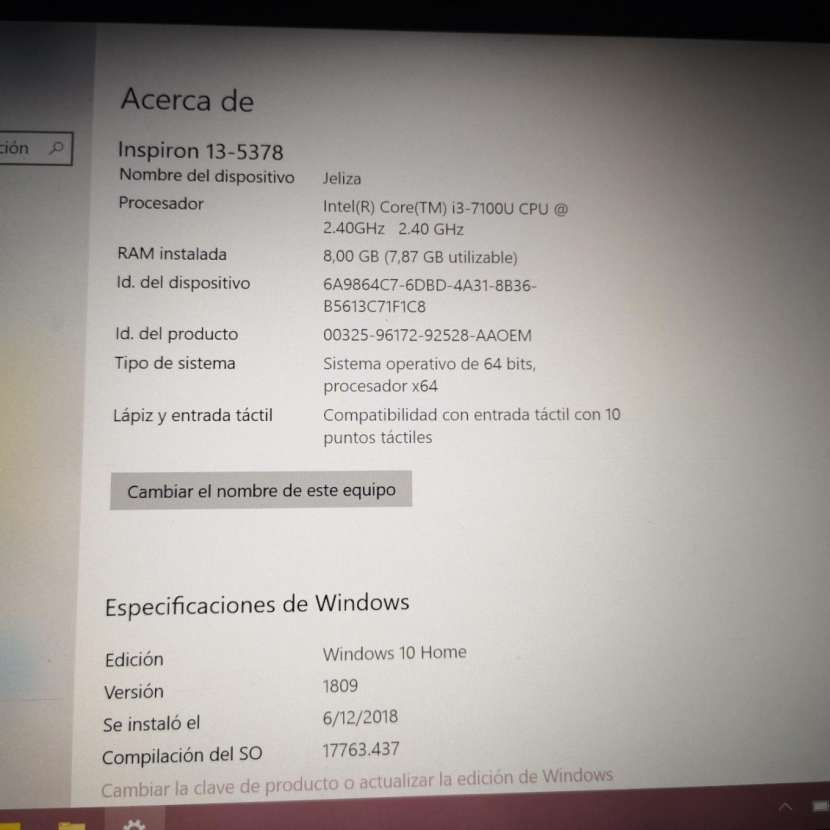 Notebook Dell Inspiron 13 Serie 5000 - 1