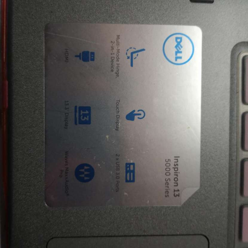 Notebook Dell Inspiron 13 Serie 5000 - 8
