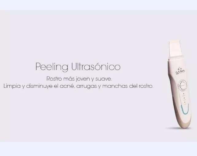 Peeling ultrasónico facial - 2