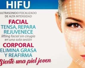 New HIFU facial y corporal