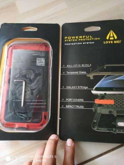 Protector de metal para S7 Edge nuevo - 1