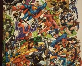 Comic vengadores y liga de la justicia