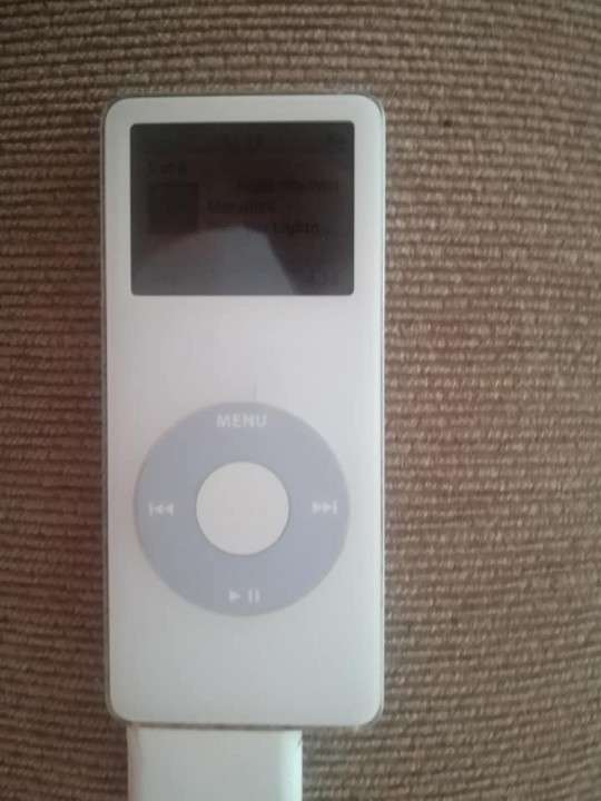 Ipod nano 2 gb blanco - 1