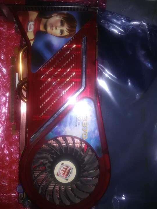 GPU Radeon HD 3870 DDR3 512 mb - 3