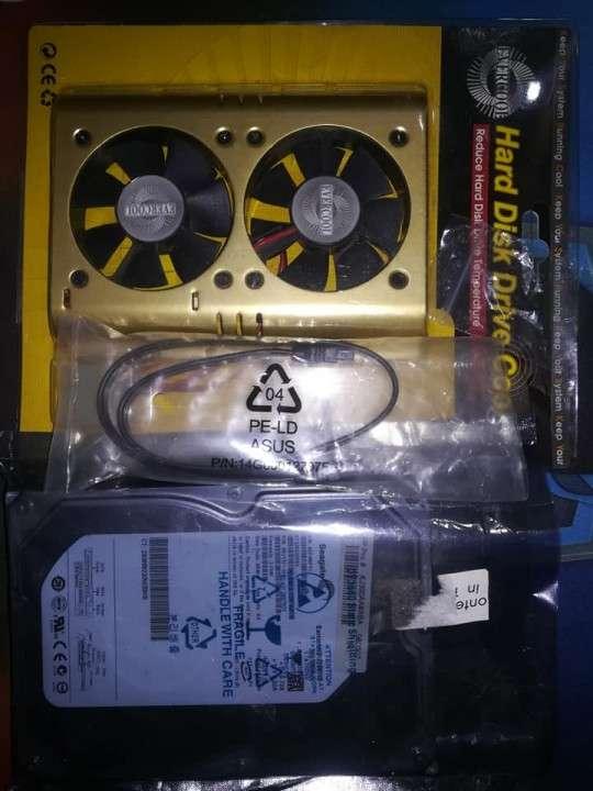 Disco Duro Sata 2 Seagate 360 GB + Cable Sata + Cooler - 1