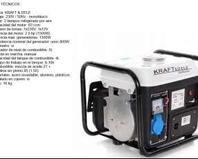 Generador 1500W 2HP