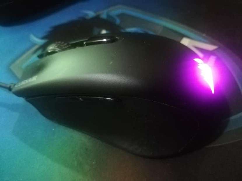 Combo Mouse corsair Harpoon RGB + Mouse pad Marvo G3 - 2
