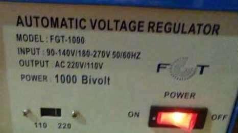 Regulador automático de voltaje - 0