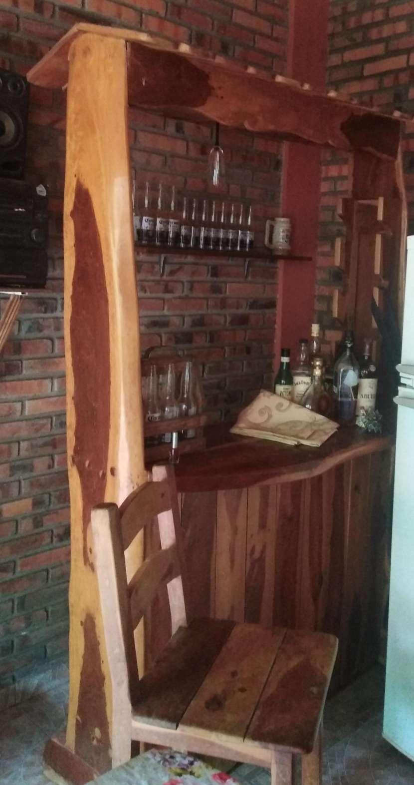 Bar de madera lapacho. - 0