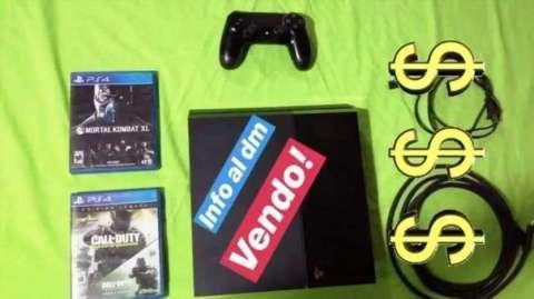 PS4 de 500 gb con 2 juegos - 0