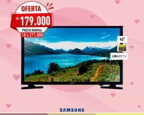Televisor Samsung de 40 pulgadas Smart