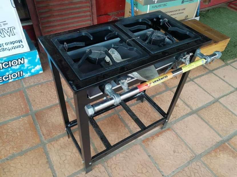 Cocina industrial, 2 hornallas - 3