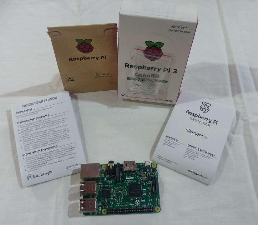 Raspberry Pi 3 B - 1