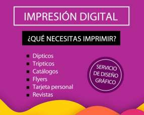 Impresion digital full color