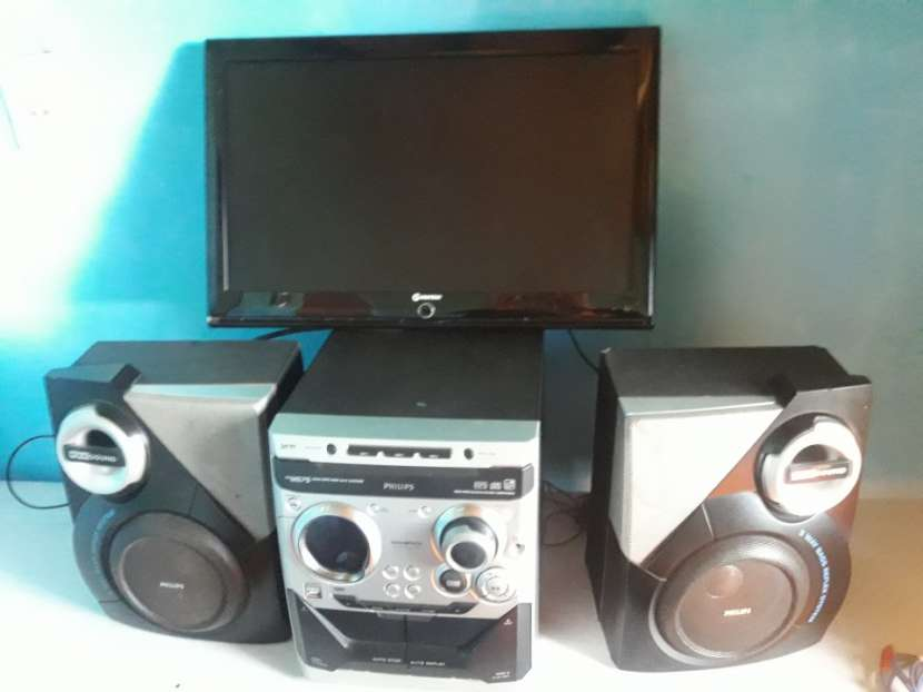 TV Matsui equipo de sonido Phillips y DVD phillips - 2