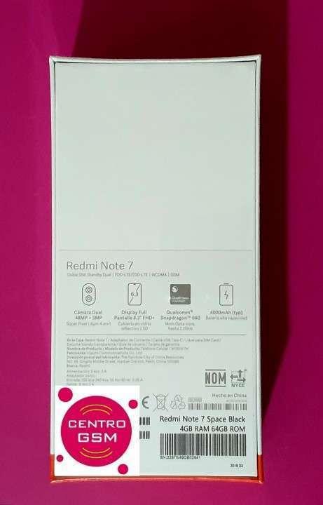 Xiaomi Note 7 de 64 gb y 43 mpx nuevos - 2