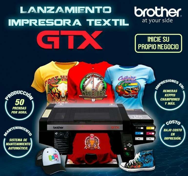 Impresora Textil Brother GTX - 0