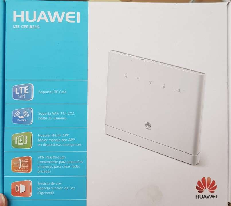 Huawei router b315s - 519 blanco inalámbrico - 1