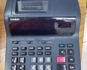 Calculadora Casio de escritorio con bobina de 12 dígitos