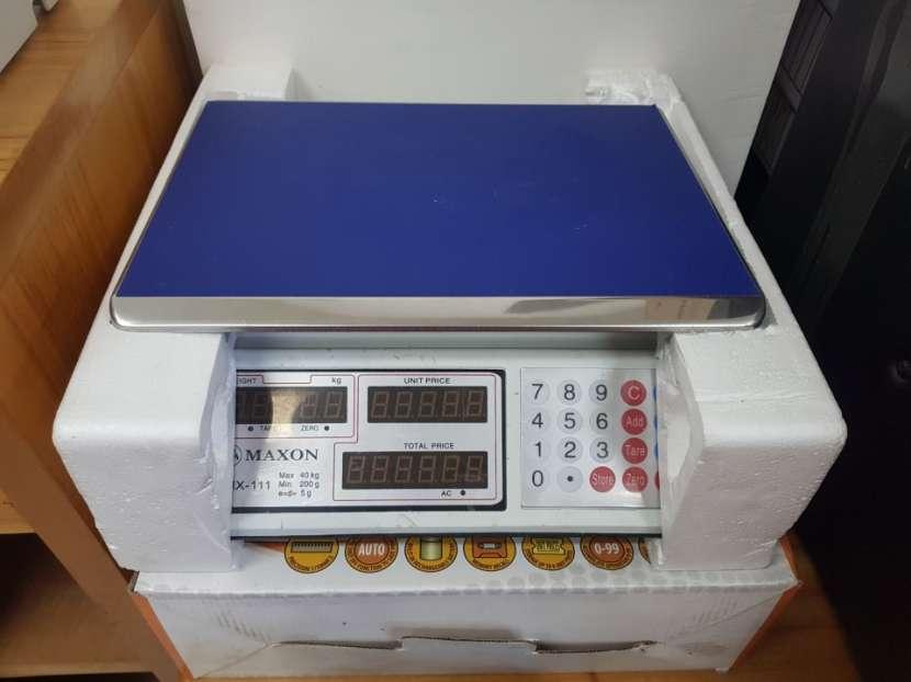 Balanza maxon mx 111 de 40 kilos 2v - 0