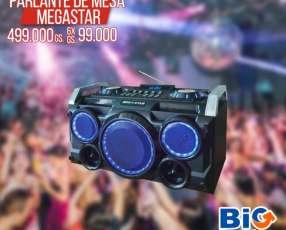 Parlante de mesa c/Bluetooth MEGASTAR