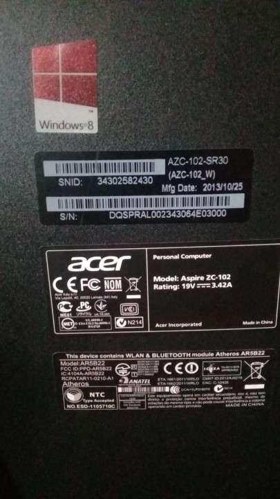 Computadora Acer - 1