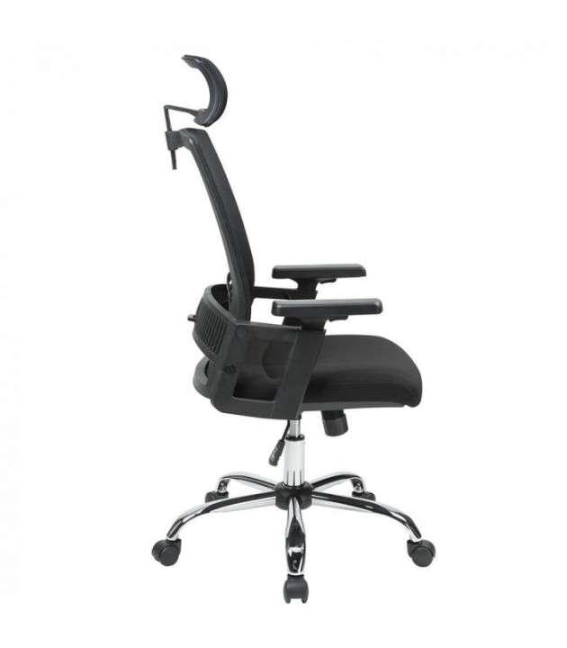 Silla de oficina ergonomica c/ cabezal (hw50192bk) - 2