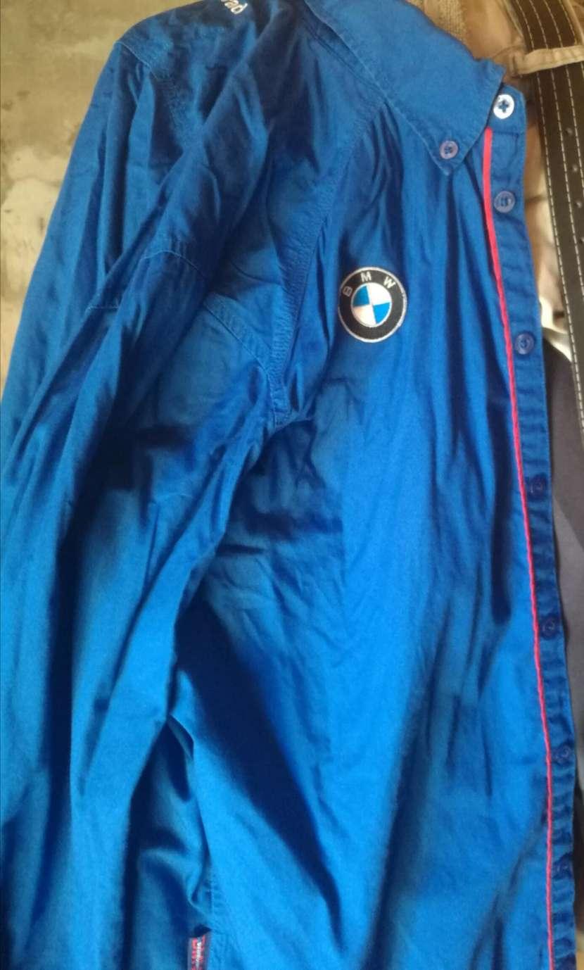Camisa original BMW mangas largas tamaño M - 0