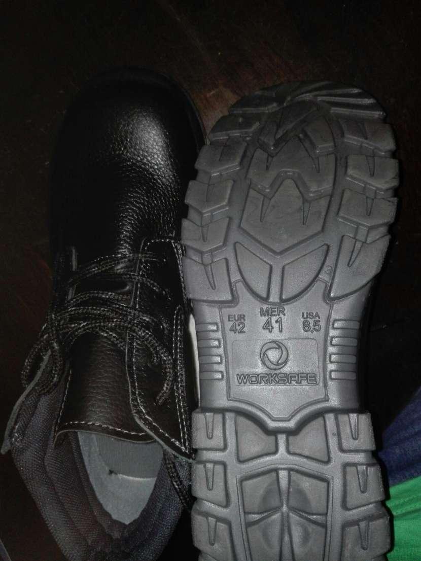 Zapaton punta de acero nuevo - 1