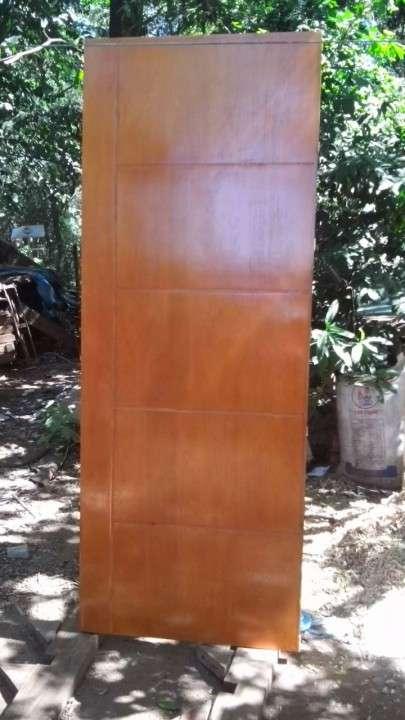 Puertas placas con diseño p/interior - 0