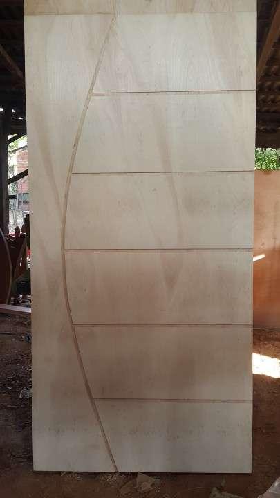 Puertas placas con diseño p/interior - 1
