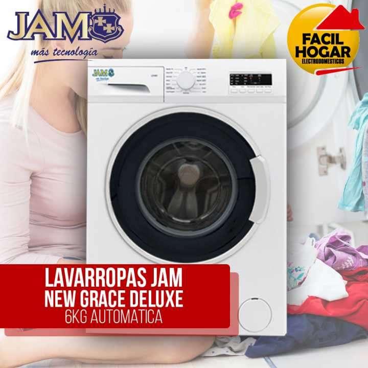 Lavarropas JAM 6 kg Deluxe