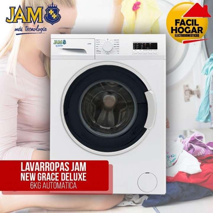 Lavarropas JAM 6 kg Deluxe - 0