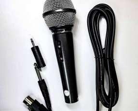 Microfono con cable 5m