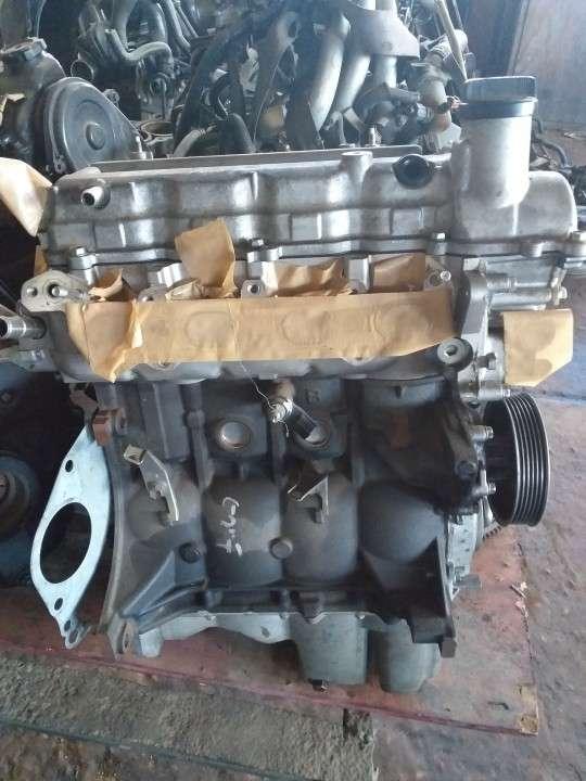 Motor 2SZ fe 1300cc pelado - 4