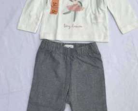 Ropa conjunto para niña de 12/18 meses