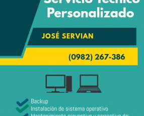 Tecnico Notebook y PC