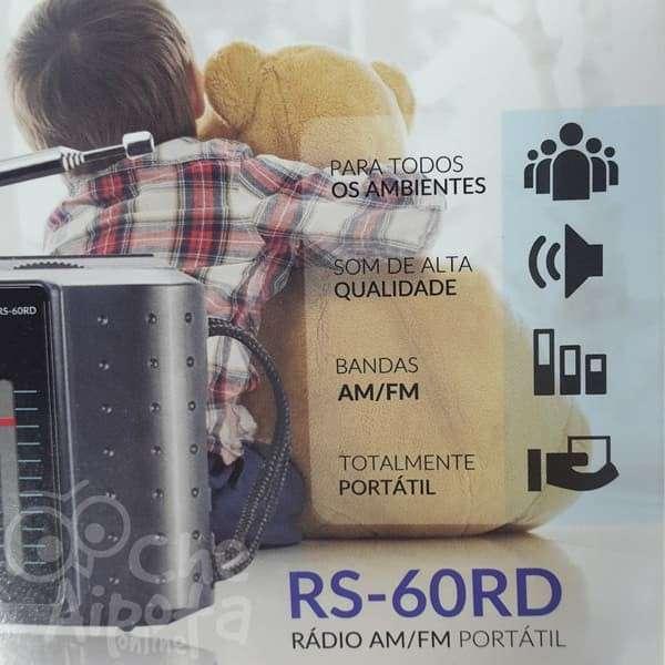 Radio portátil AM y FM Roadstar RS-60RD - 3