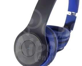 Auricular Estéreo Bluetooth con Radio FM y Slot para Micro S