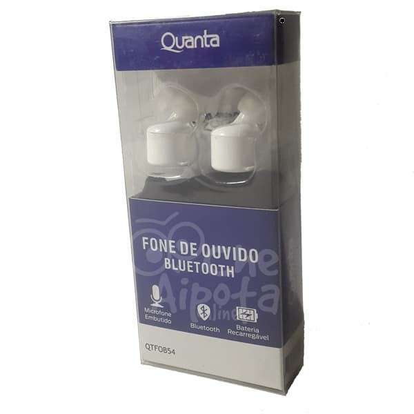 Audífonos estéreo In-Ear wireless bluetooth Quanta QTF0B54 - 0