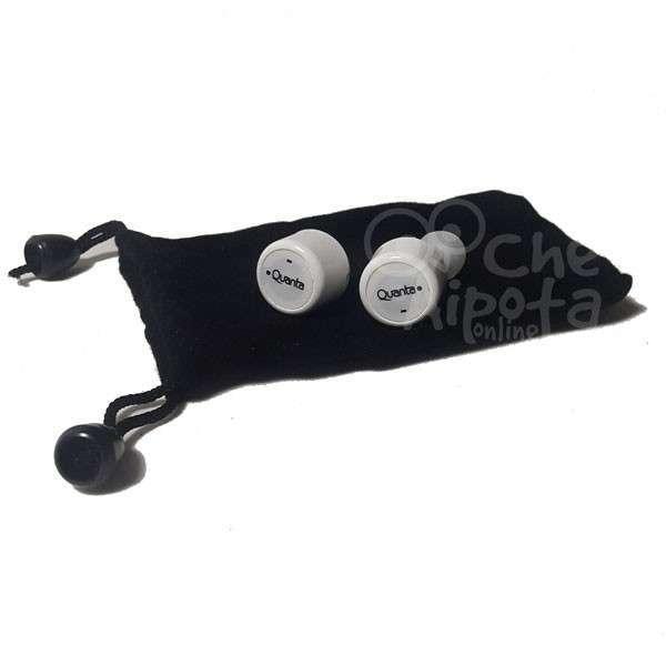 Audífonos estéreo In-Ear wireless bluetooth Quanta QTF0B54 - 1