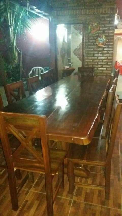 Mesa de Lapacho - 6