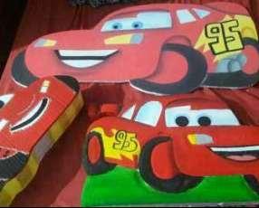 Afiches de cars para cumpleaños