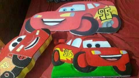 Afiches de cars para cumpleaños - 0